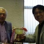 島根県経営者協会ゴルフコンペで優勝しました!